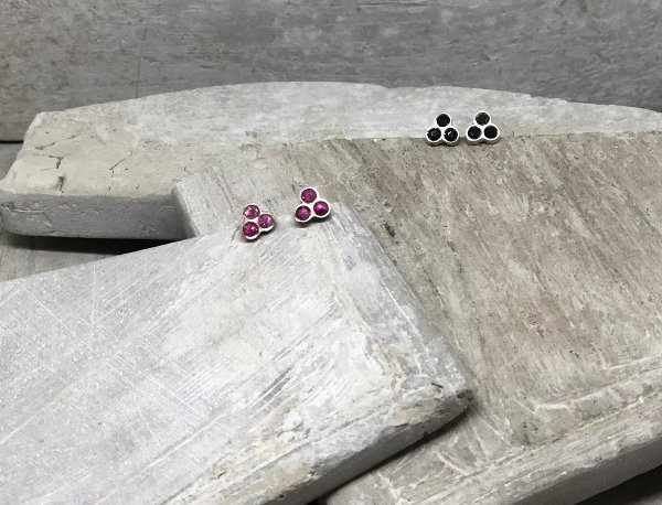 Brinco Dots Trio