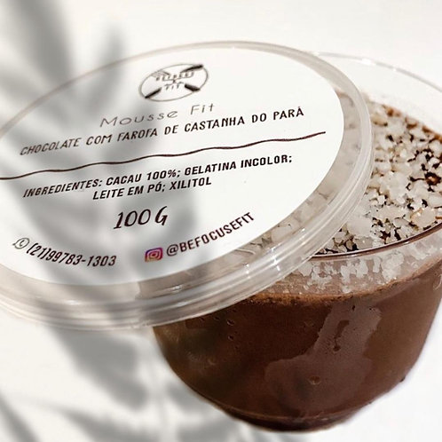 Mousse Fit sabor Chocolate