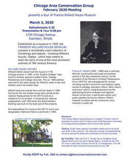 CACG and FWHM Feb-March 2020