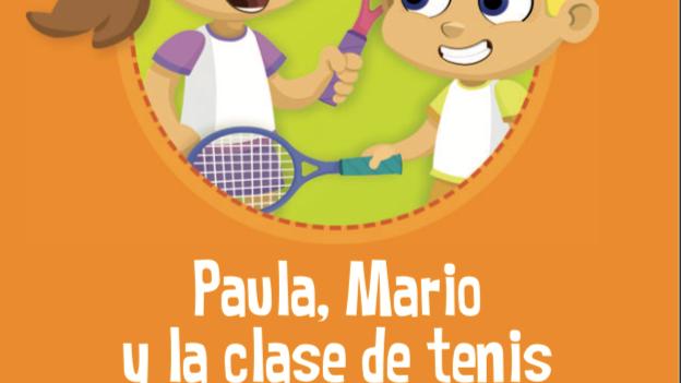 Paula, Mario y la clase de tenis