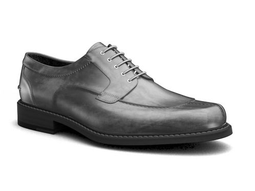 DECO GREY CASUAL MENS DERBY SHOES