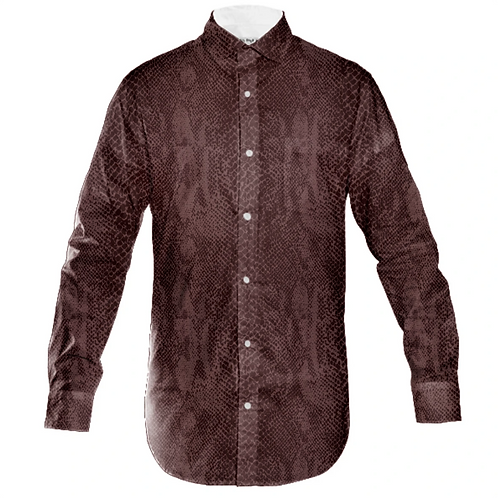 H&R PYTHON MENS BUTTON UP SHIRT
