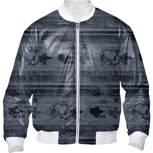 CALI PROUD MENS NYLON BOMBER JACKET