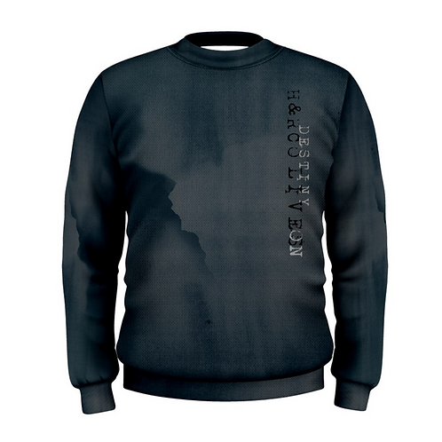 Storm Navy Blue Mens Crew Sweater
