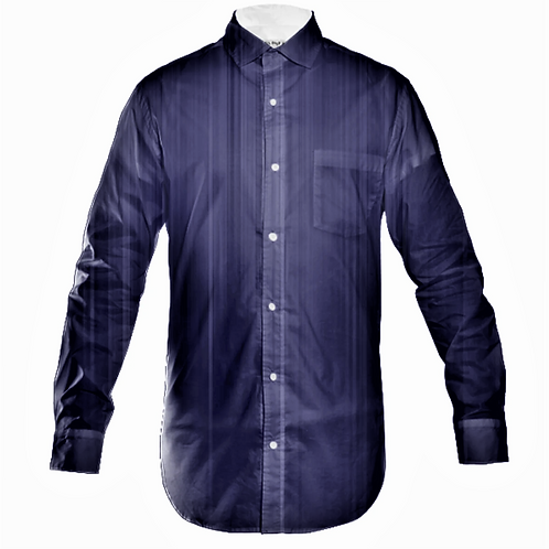 ILLUSIONS MENS STRIPPED BUTTON UP SHIRT