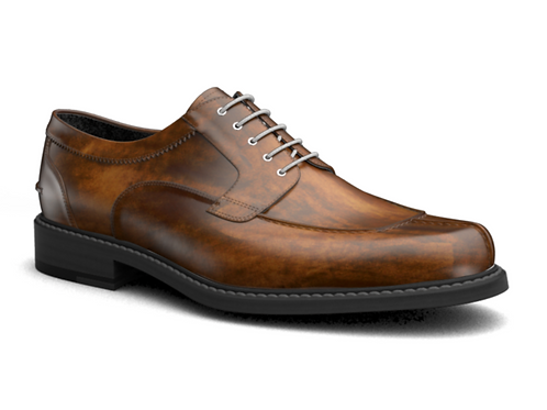 DECO TAN CASUAL MENS DERBY SHOES