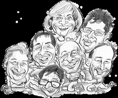 Karikatur Schparz, Fasnachtszitig, Churer Fasnacht