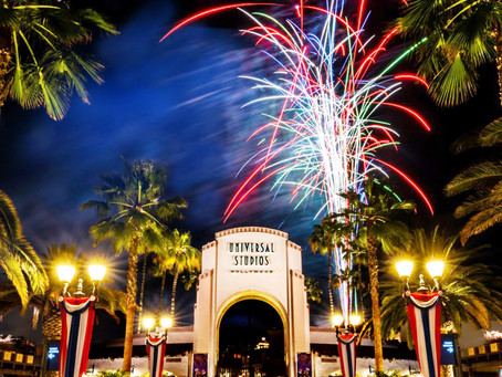 Universal Studios Hollywood Celebrates July 4th With Its Dazzling Fireworks Spectacular