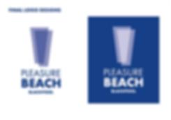 Blackpool Pleasure Beach Logo Redesign U