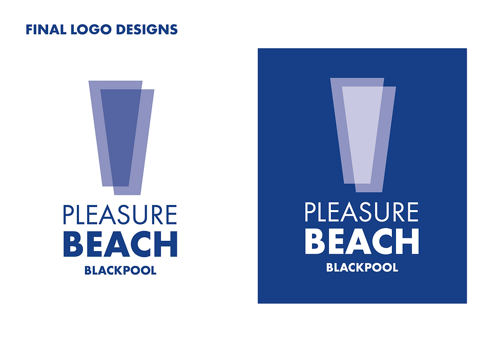 Blackpool Pleasure Beach Logo Redesign U