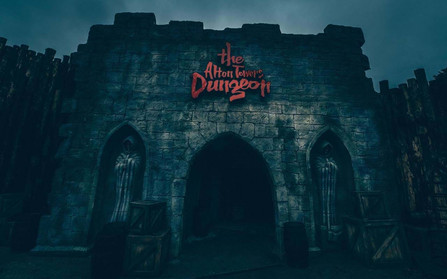 Alton Towers Resort - The Alton Towers Dungeon Review