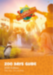 Chessington Resort Zoo Days Guide 2020 F
