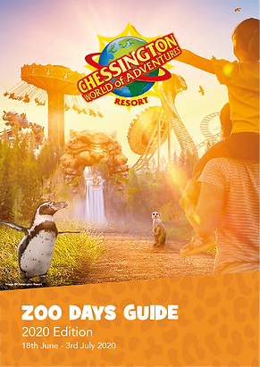 Chessington Resort Zoo Days Guide 2020 F