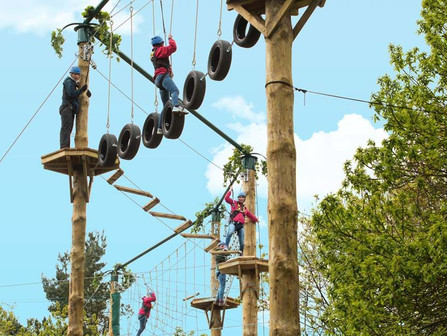 Alton Towers Resort - Tree Top Quest Re-opened