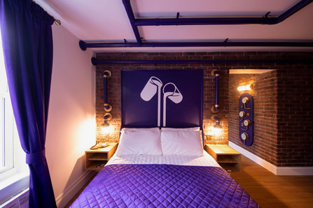 Alton Towers Resort Reveals Refurbished Chocolate Factory Themed Hotel Suite