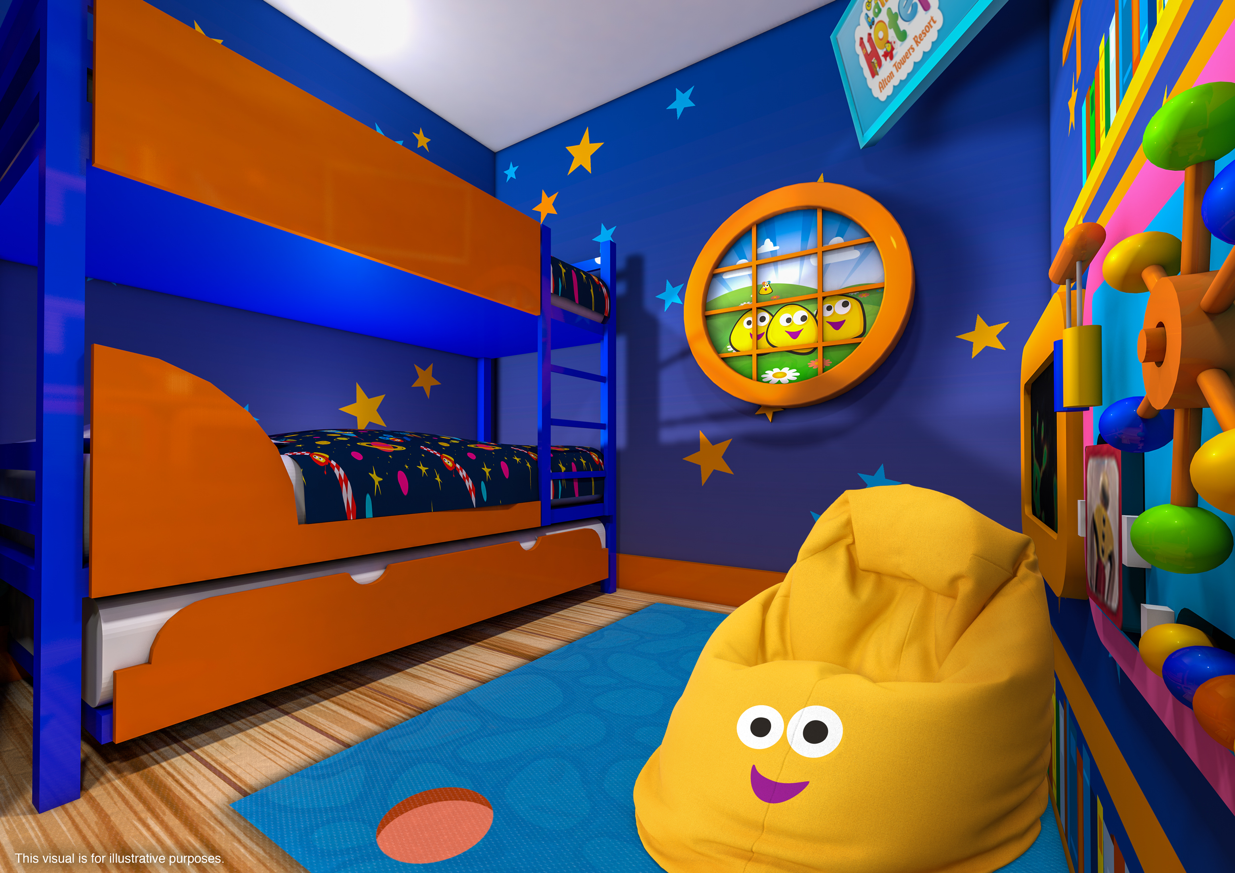 Bugbies kids room