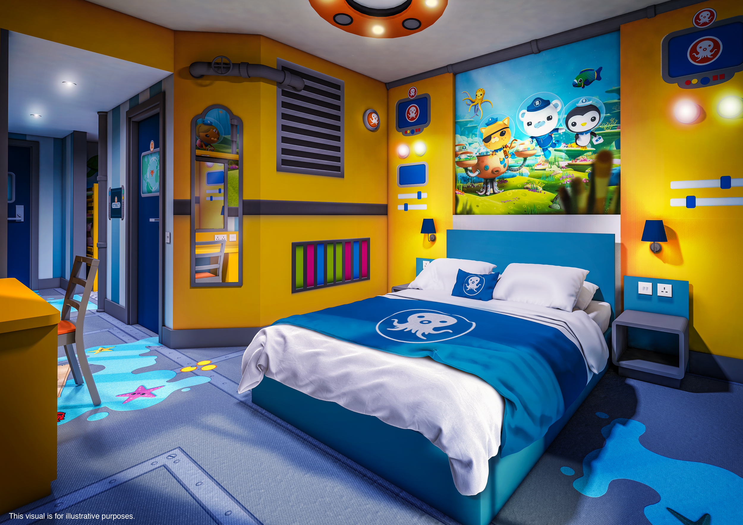Octonauts room
