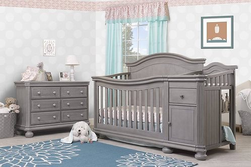 Sorelle Finley crib with changer and double dresser
