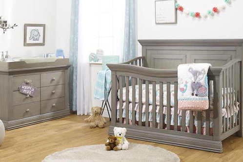 Paxton 4 in 1 Heritage Grey con double dresser