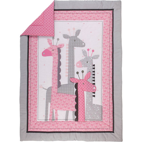 Giraffe Time Pink Little love