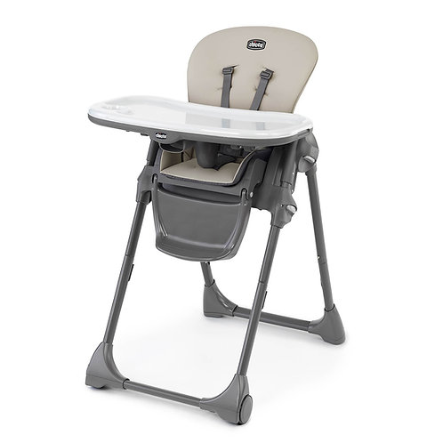 Polly Highchair - Taupe