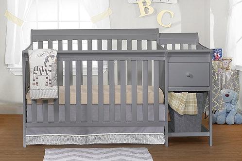 Florence crib and changer