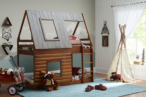 Rocky Mountain Log Cabin bed