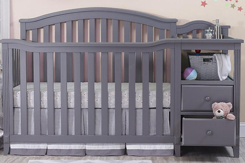 Berkley crib and changer Gray
