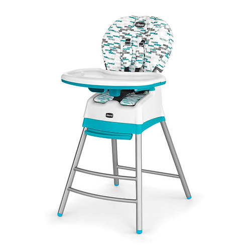 Chicco Stack High Chair Aqua