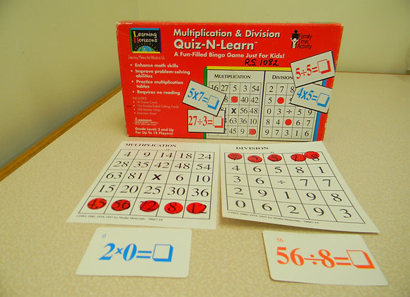 Quiz 'n' Learn/Multiplication & Division