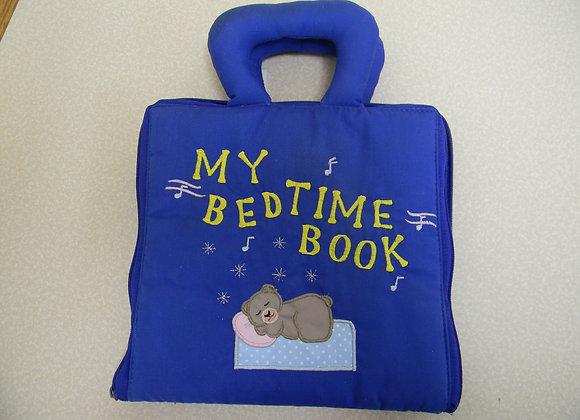"Plush ""My Bedtime Book"""