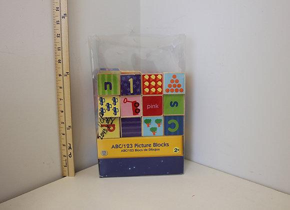 ABC/123 Picture Blocks