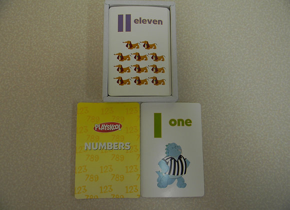 Playskool Numbers Flash Cards