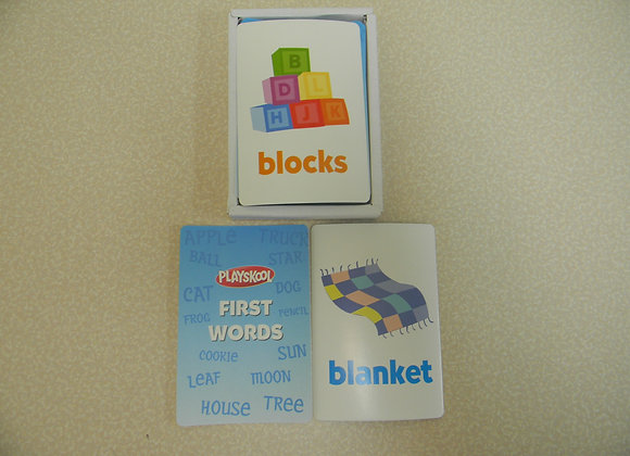 Playskool First Words Flash Cards
