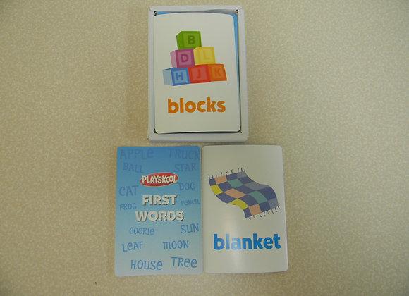 Playskool First Words Flash Cards