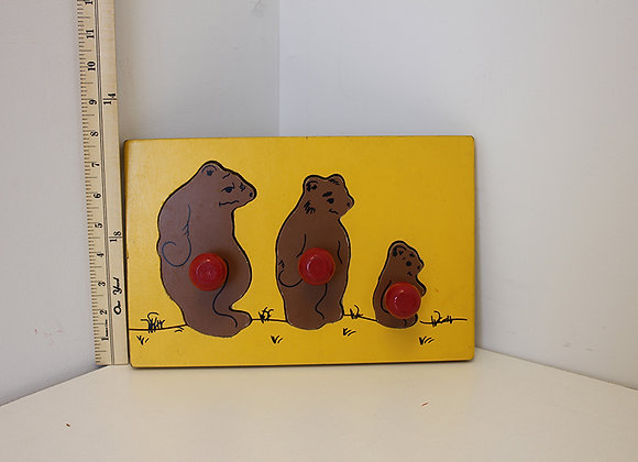 Three Bears Puzzle