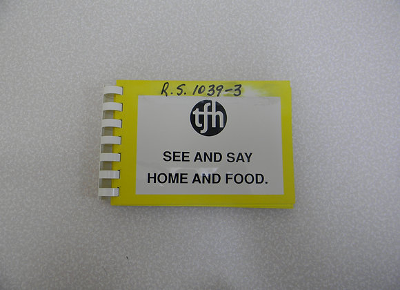See and Say/Home and Food