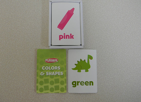 Playskool Colors & Shapes Flash Cards