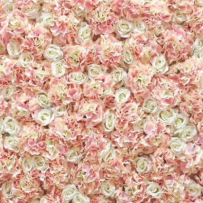 Peach Flower Wall Backdrop