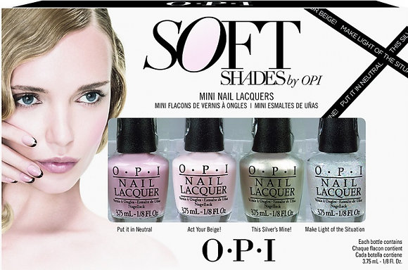 O.P.I - Soft Shades Mini Set