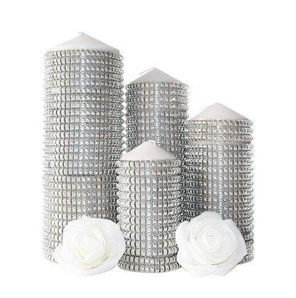 Diana Studded Candles Hire