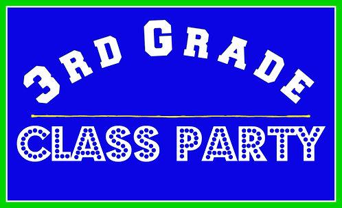 3rd Grade Class Party