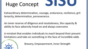 This all brings to mind my favorite small word & large concept- SISU