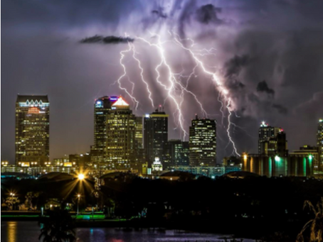 Tampa is the lightning capital of North America & home to the Stanley Cup Lightning
