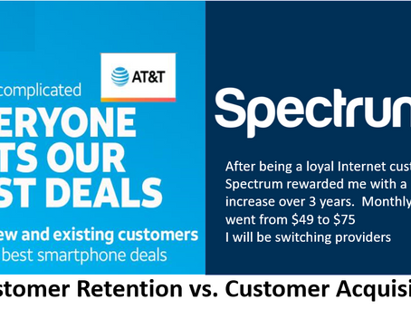 Customer retention vs. customer acquisition. They're both important. What is your focus?