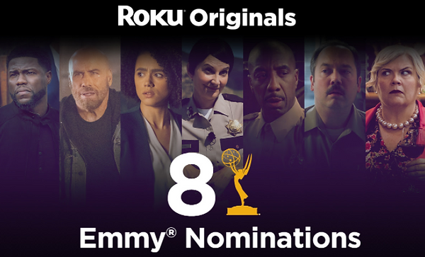 2021 Emmy awards Streaming prevails superior. 7 out of 10 most nominated shows are streaming
