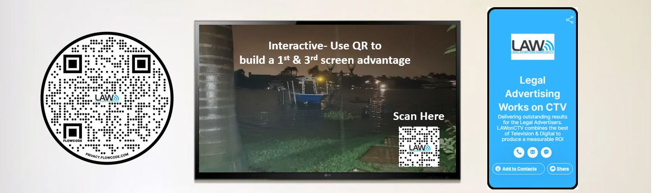 Adding a QR code to your CTV OTT Streaming advertising campaign can improve recall and response.