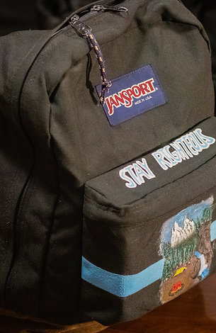 JanSport X Righteous Amenities Custom Bag