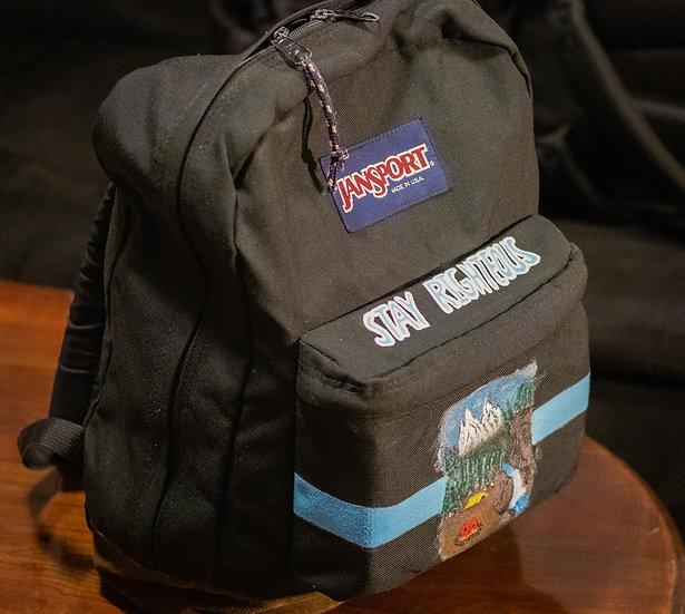 JanSport X Righteous Amenities Custom Bag