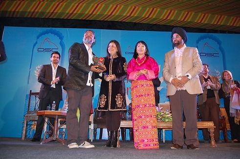 3. DSC Prize 2012 winner Shehan Karunati